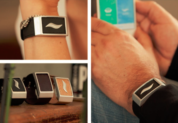 WellBe bracelet detects your stress, helps all be well again