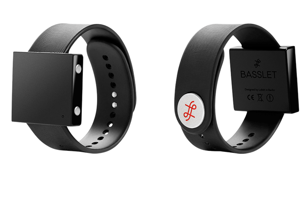 The Basslet jams out on the wrist to make you feel the beat