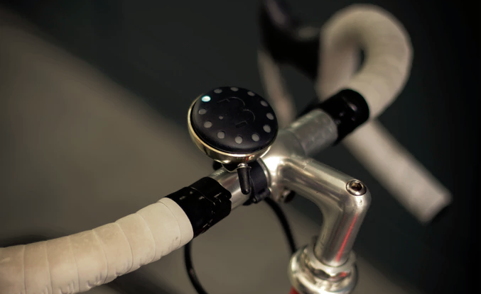 The BluBel connected bike bell gives routes a familiar ring