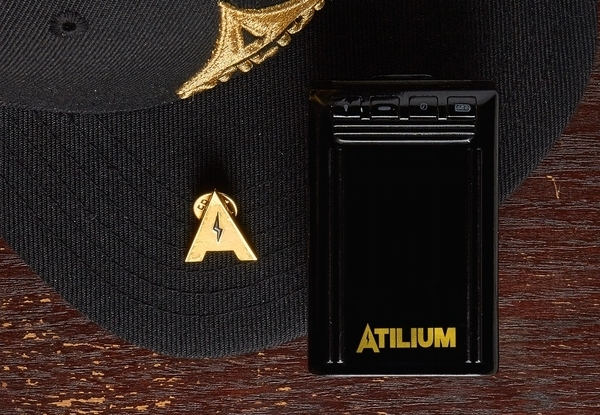 The ATILIUM power bank keeps you charged up all day with dope design