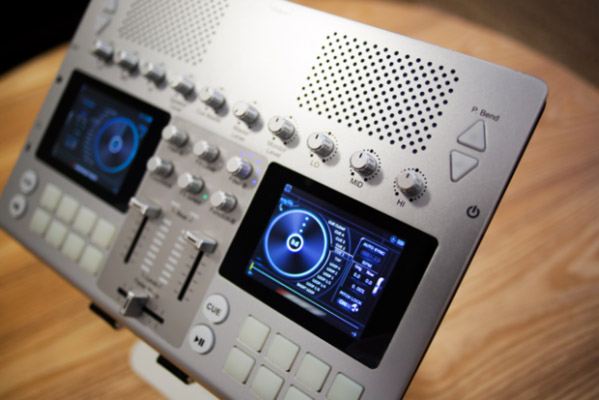 The GoDJ Plus is a lightweight DJ system that still drops tons of bass