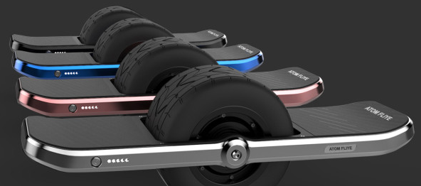 Atom Fliye connected hoverboard lets you zip, if not fly, around the neighborhood