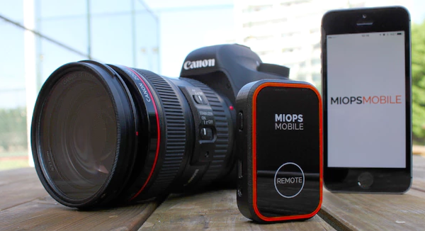 Miops Mobile offers new ways to operate your camera from your phone