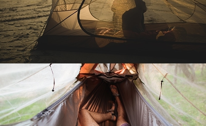 The Sunda tent offers four ways to soak in the wild