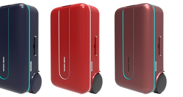 Travelmate robotic suitcase follows wherever you go while traveling