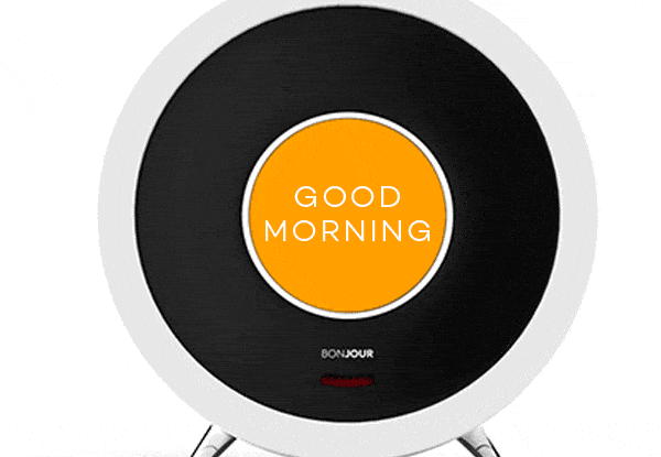 Say Bonjour to easier mornings with this smart alarm clock