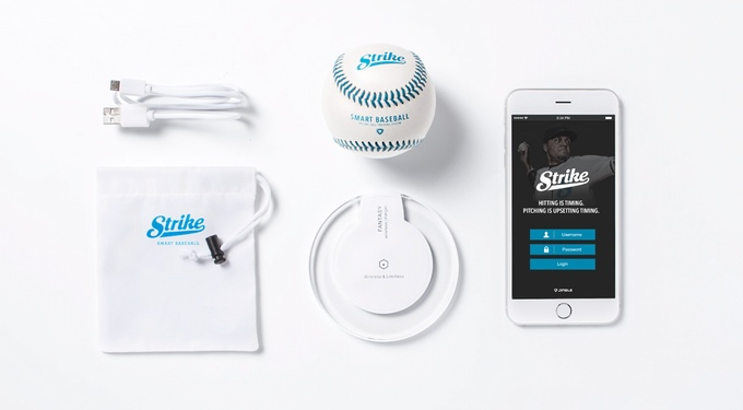 The Strike connected baseball helps you close out more games