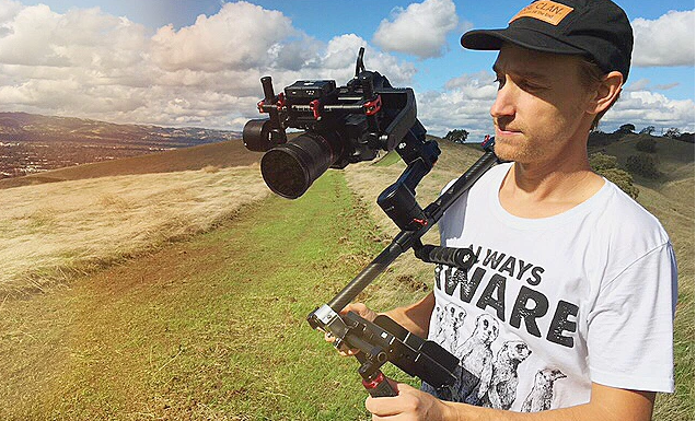 Daisho, in a dash, transforms your camera gimbal into shoulder rig