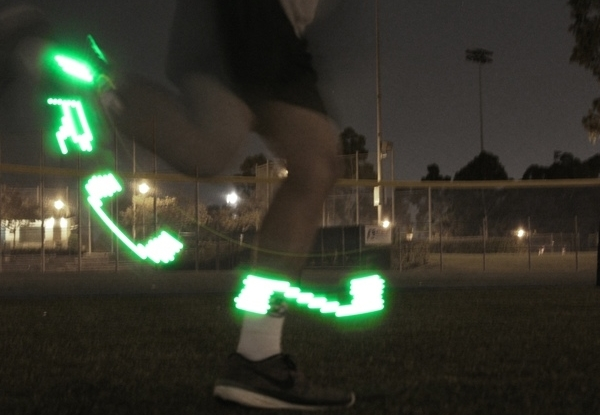 The Specter brightens up your nighttime runs, one flailing arm at a time