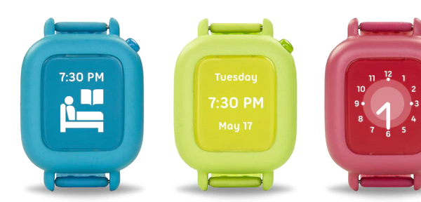 Octopus smartwatch teaches kids time and good habits