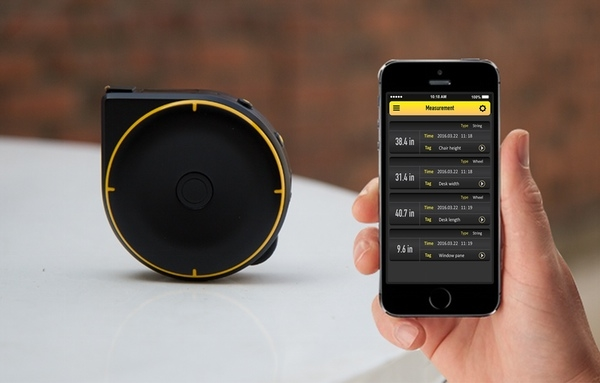 Connected Bagel tape measure is high on functionality, low in carbs