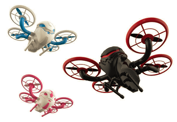 Forget boring 2-in-1s: the DRONOID 3-in-1 drone is where it's at