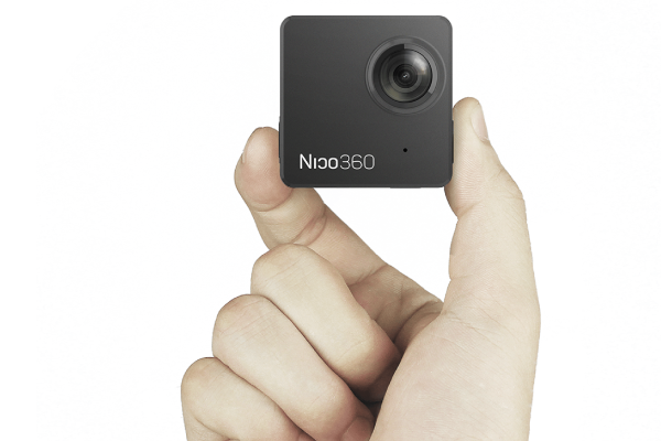 The Nico360's tiny frame streams everything around you