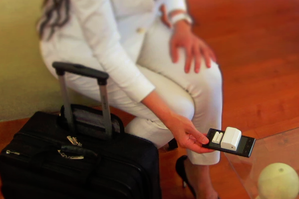 The portable Securmate is a security system for wherever you need it