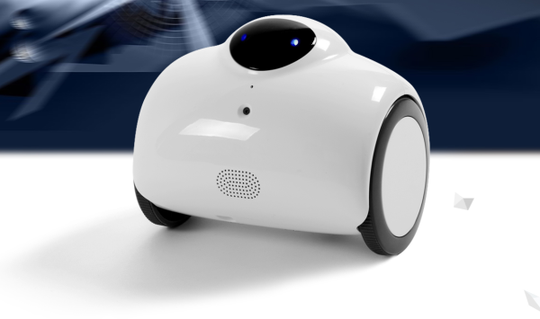The Jimble surveillance bot is a pregnant hoverboard that patrols your home