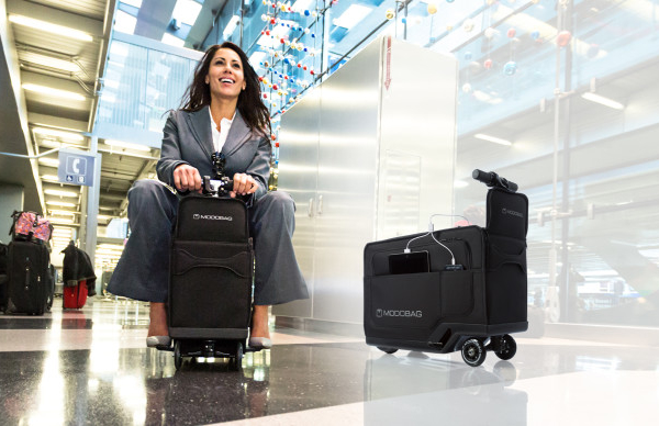 The Modobag carry-on won't ride into the sunset