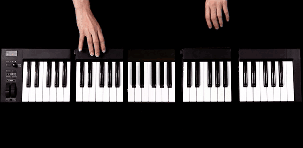 The Kombos modular MIDI keyboard puts a full keyboard in your backpack