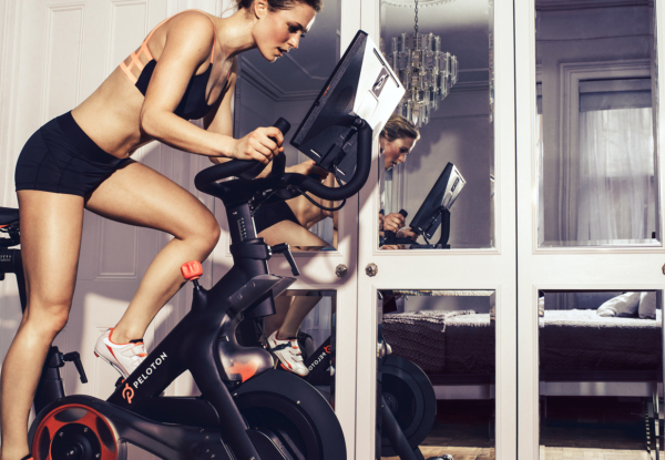 The Peloton stationery bike lets you compete globally, costs more than airfare
