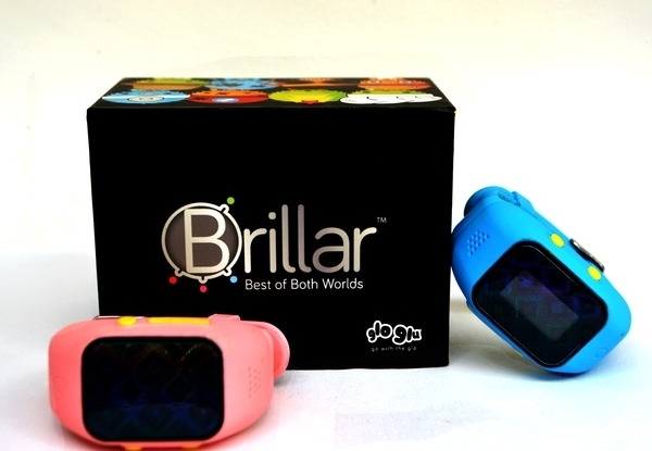 The BRILLAR kid's watch gamifies the real world
