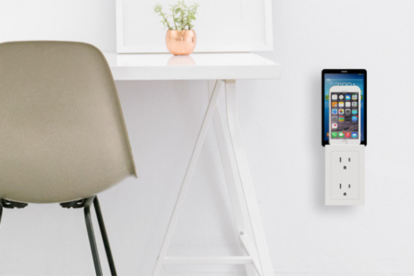 The Plugzr outlet add-on puts you in charge of your charging