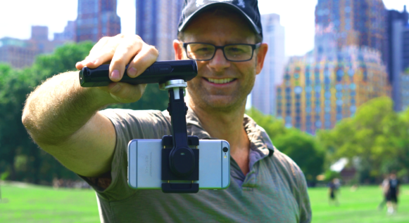 Smove smartphone stabilizer lets you move while shooting video