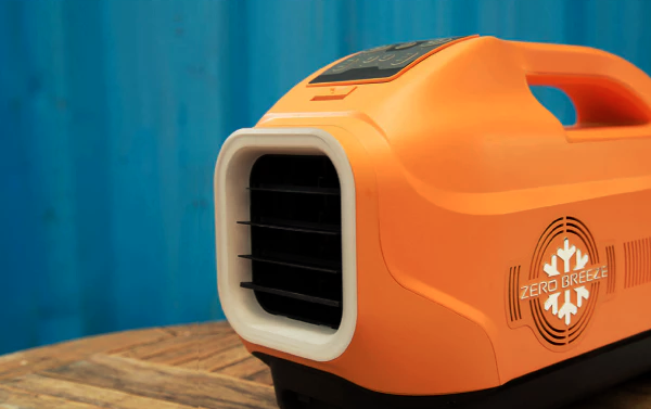 Always be cool with the Zero Breeze portable air conditioner