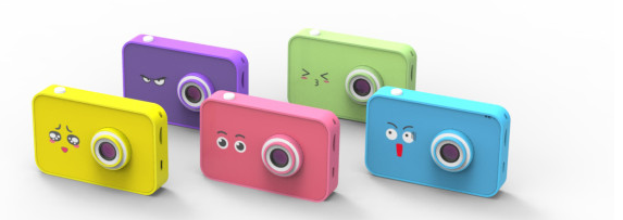 Pello interactive kids' camera comes in yellow, four other colors