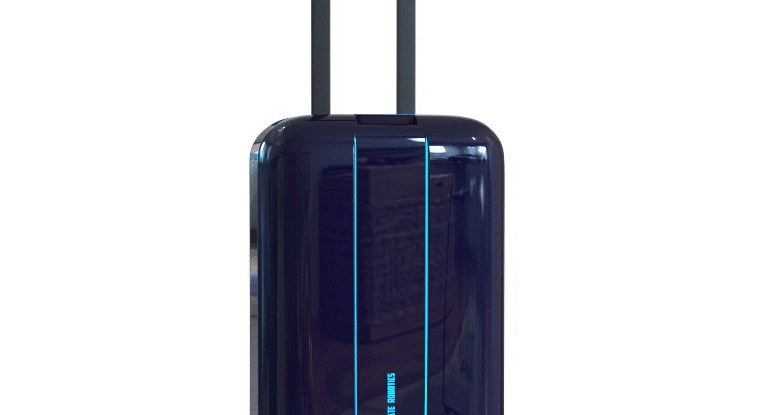 The Travelmate suitcase stalks you through airports